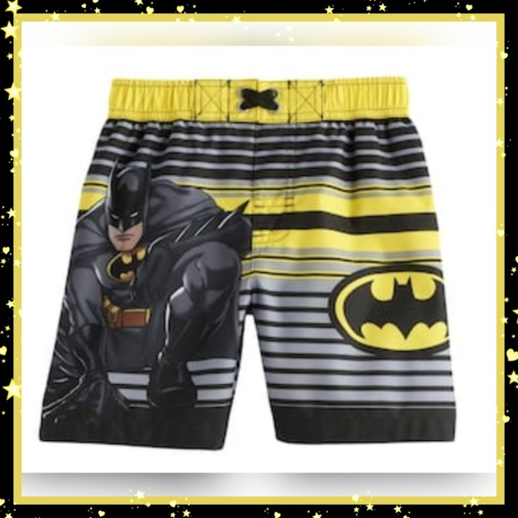 5765bd165c DC Comics Swim | Toddler Boy Batman Trunks Sz 3t | Poshmark